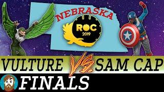 Heroclix NE ROC States | Vulture vs Sam-Cap | FINALS
