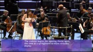 Janine Jansen: Mendelssohn's Violin Concerto Mvt.1