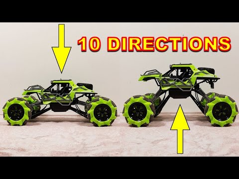 OMNIDIRECTIONAL Transformer 4WD RC Stunt Car - Like DJI Robomaster S1
