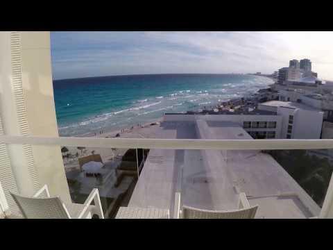 krystal cancun: tour room, gounds, beach