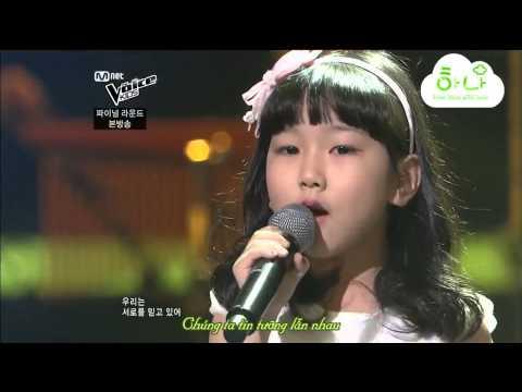 [VoiceKids] Park Ye Eum & Son SeungYeon Butterfly (Loveholics)- Kết bé Ye Eum rồi