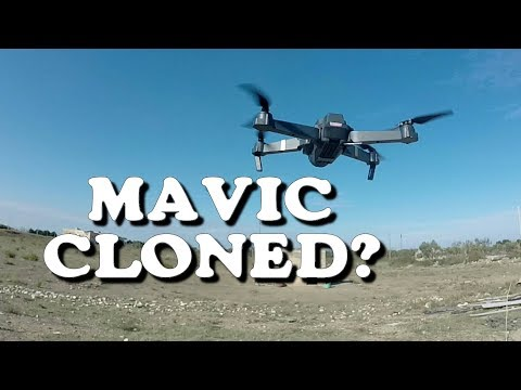 Eachine E58 - A toy-grade Mavic\'s clone