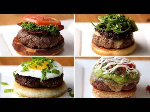 Dünyanın Farklı Ülkelerinden 4 Farklı Hamburger