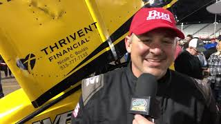 Joe Beavers Wins at Knoxville Raceway!