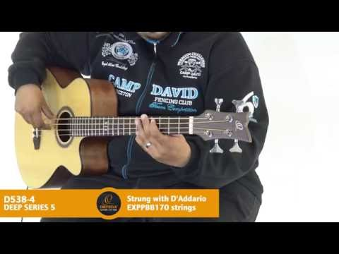 Ortega Guitars | D538-4 - Deep Series 5 (Acoustic Bass Guitar)