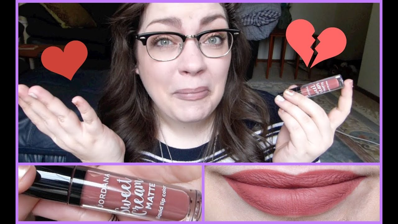 Jordana Sweet Cream Matte Liquid Lip Color First Impression Download Youtube Thumbnail