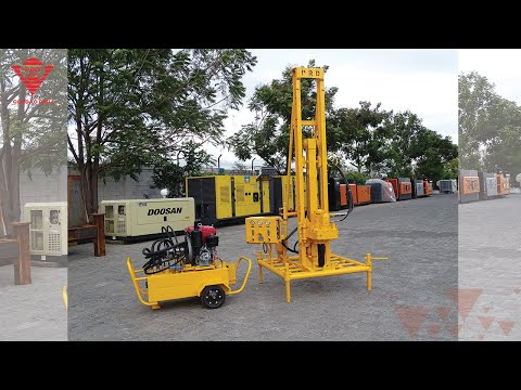 Portable Bore Well Drilling Machines
