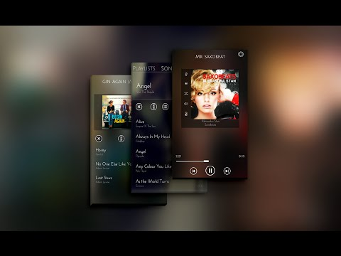 Video of Music Player