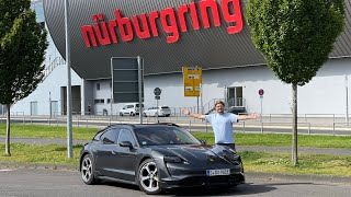 Welcome To The Nürburgring! Our First Lap In The Porsche Taycan Turbo Cross Turismo
