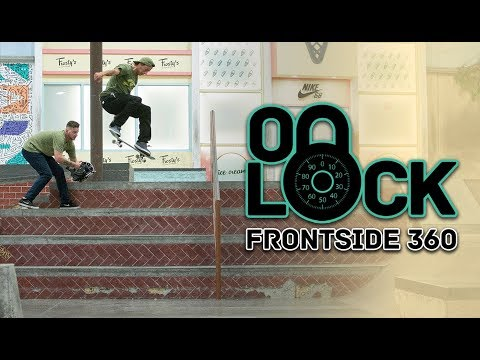 Frontside 360 Everything In The Berrics?! With Ryan Decenzo | On Lock