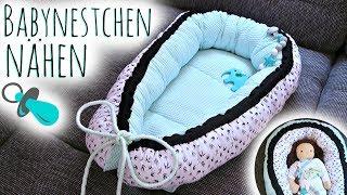 Nestchen für Babys nähen | Babynestchen selber machen | Anleitung & Tipps