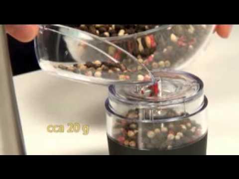 Video Tescoma Elektrický mlýnek na pepř/sůl PRESIDENT 2