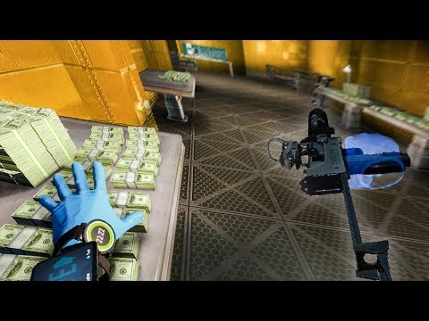 $5,041,524 hidden in a SOLID GOLD VAULT and it's ALL MINE (Payday VIRTUAL REALITY)