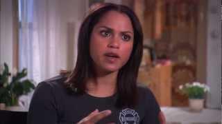 "Monica Raymund's Official ""Chicago Fire"" Nazdarovya Episode Interview"