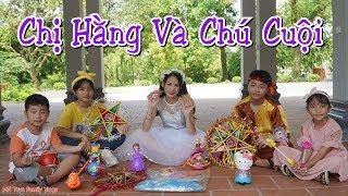 Trò Chơi Chị Hằng và Chú Cuội Phát Quà Trung Thu - MN Toys Family Vlogs