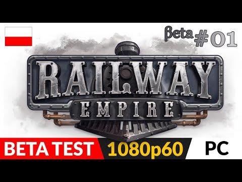 RAILWAY EMPIRE PL 🚂 Beta #1 🚉 Godny następca Railroad Tycoon?   Gameplay po polsku