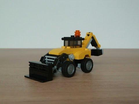Vidéo LEGO Creator 31041 : Les véhicules de chantier
