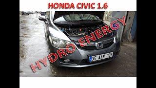Honda cıvıc hidrojen yakıt tasarruf sistem montajı