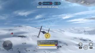 TIEfighter61-0+ルークスカイウォーカー