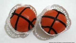 BasketBall Cupcakes By VAOC