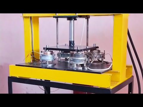 sami automatic double die paper plate making machine