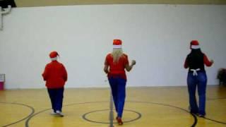 """Holly Jolly Christmas"" shuffle/line dance"