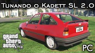 Tunando o Chevrolet Kadett SL 2.0 - MOD FERA!   GTA V - PC [PT-BR]