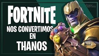 Thanos llega a Fortnite: cómo conseguirlo y qué habilidades tiene