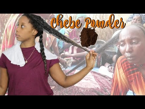 African Hair Secret | CHEBE POWDER | Long Kinky Hair