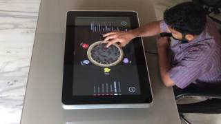 Interactive Pizza Table