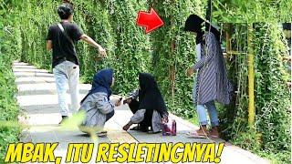 MBAK ITU RESLETINGNYA!   Prank Indonesia