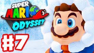 Super Mario Odyssey - Gameplay Walkthrough Part 7 - Snow Kingdom! (Nintendo Switch)