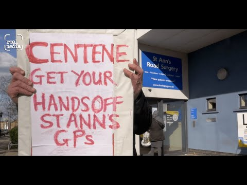 Protest over GP takeover by private corporation