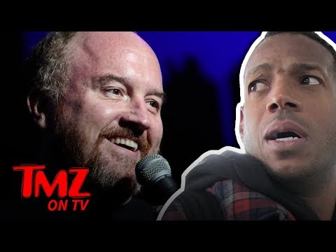 [TMZ] Marlon Wayans Supports Louis C K 's Comeback
