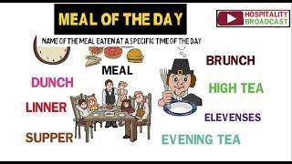 Meals Of The Day: Breakfast/Brunch/Elevenses/Lunch/High Tea/Lupper/Dunch/Linner/Dinner