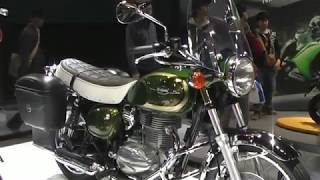 Kawasaki ESTRELLA Touring Style アクセサリー装着車 カワサキ バイク エストレヤ ツーリングスタイル キャンディアイビーグリーン