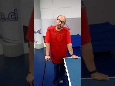 Candidato Cristian Dettoni (Tenis de Mesa)