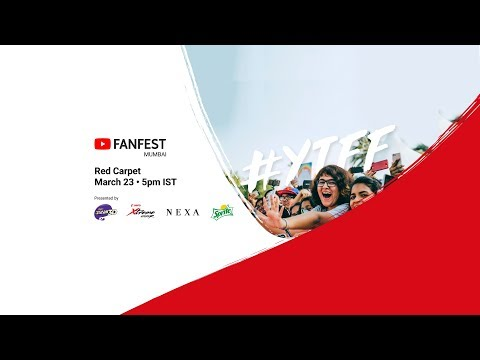 Download YouTube FanFest Mumbai 2018 - Red Carpet Livestream HD Mp4 3GP Video and MP3