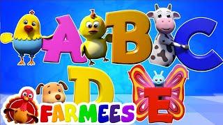 Música Do Alfabeto Para Crianças | Crianças Músicas Portuguesas | ABC Song | Preschool Songs
