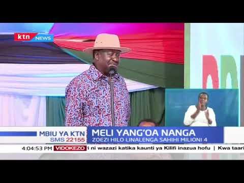 Ukusanyaji wa saini za BBI wazinduliwa, Raila na Uhuru watia sahihi zao | Mbiu ya KTN