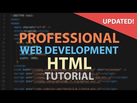 HTML Tutorial for Beginners - YouTube