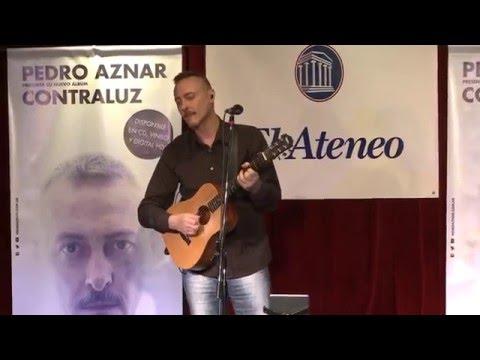 Pedro Aznar video Contraluz - Presentación Contraluz 2016