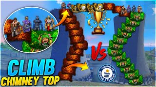 50 DJ Adam Climb On Bimasakti Tower Challenge With AS Gaming Unlimited Glow Walls - Garena Free Fire