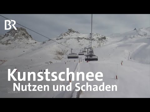 Wie umweltschädlich ist Kunstschnee? | Gut zu wissen | Skifahren