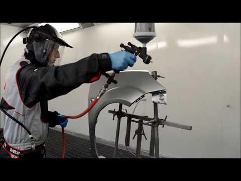 Walcom Genesi Carbonio 360 Carbon fibre spray gun Review and Demo!!