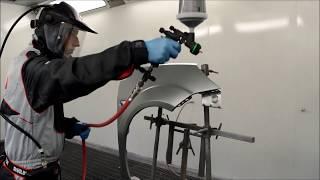 "Краскопульт  Genesi Carbonio 360 HTE (1.2;1.3;1.4;) от компании ООО ""ЛПИ Груп"" - видео"