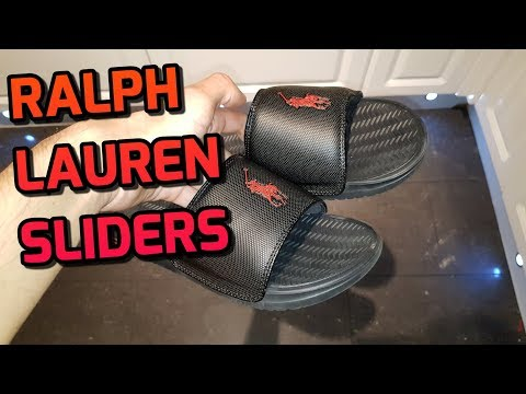 Polo Ralph Lauren Rodwell Slides Unboxing And Review