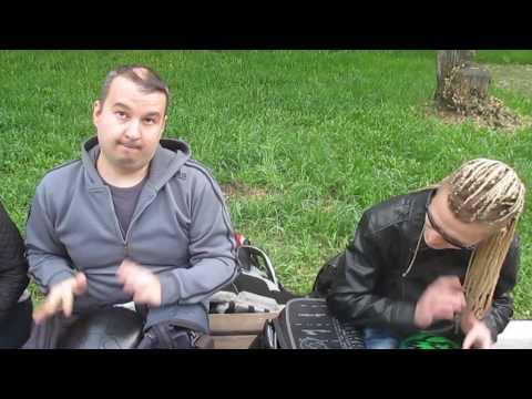 Paf83 - г Омск Игра на глюкофонах в парке КиО 20 мая 2015г