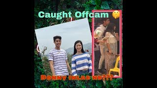 DonKiss: Donny gusto tlga malapit kay Kisses (offcam)