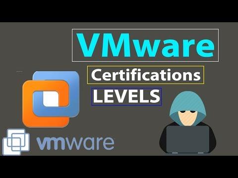 2- | VMware Certification Levels |. Types of VMware certification ...